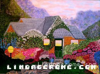 Green Door - Linda Gerome