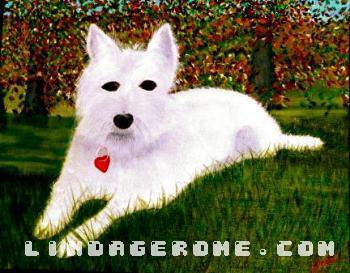 """Westie Dog - """"Brady"""" - Linda Gerome"""