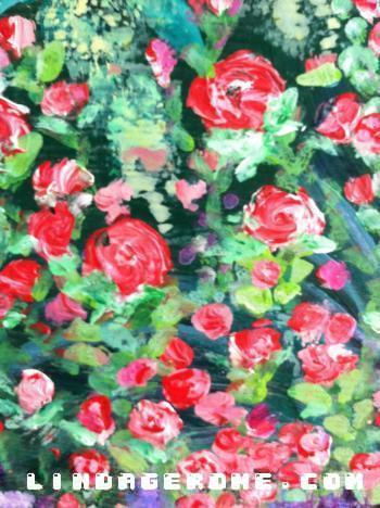 Cluster of Roses - Linda Gerome