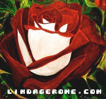 Red Rose - Linda Gerome