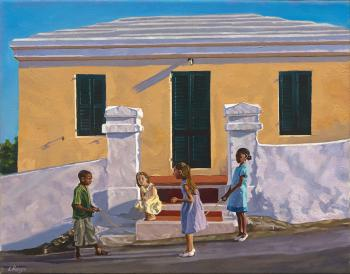 Children and buildings I