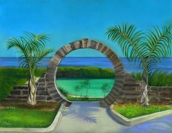 Bermuda Moongate - Lisa Rego