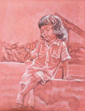 Boy's portrait - Lisa Rego
