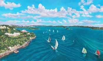 Bermuda aerial II - Lisa Rego
