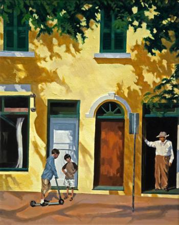Yellow Doorways