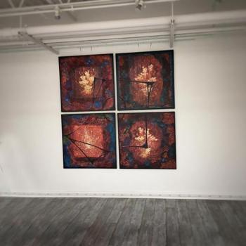 Entangled Flowers - Quadruptic - Nadia Mierau