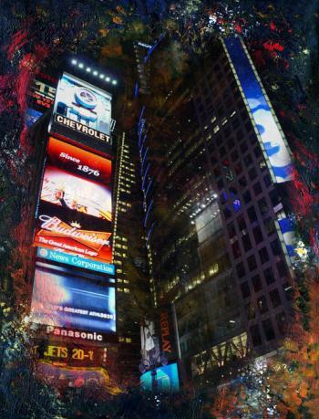 Times Square 1 - Nadia Mierau