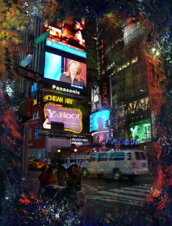 Times Square 3 - Nadia Mierau