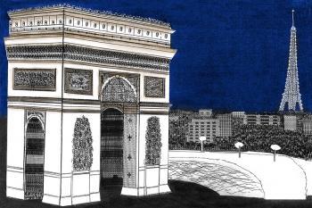 The Arc de Triomphe - Vincent Hall