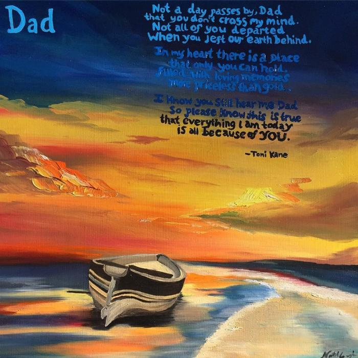 Dad - Original Paintings