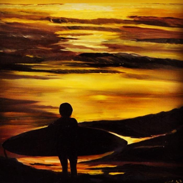 Surfer - Original Paintings