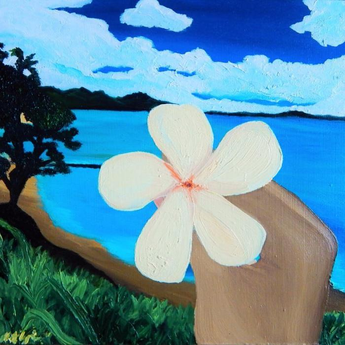 Plumeria in Hawaii - Original Paintings