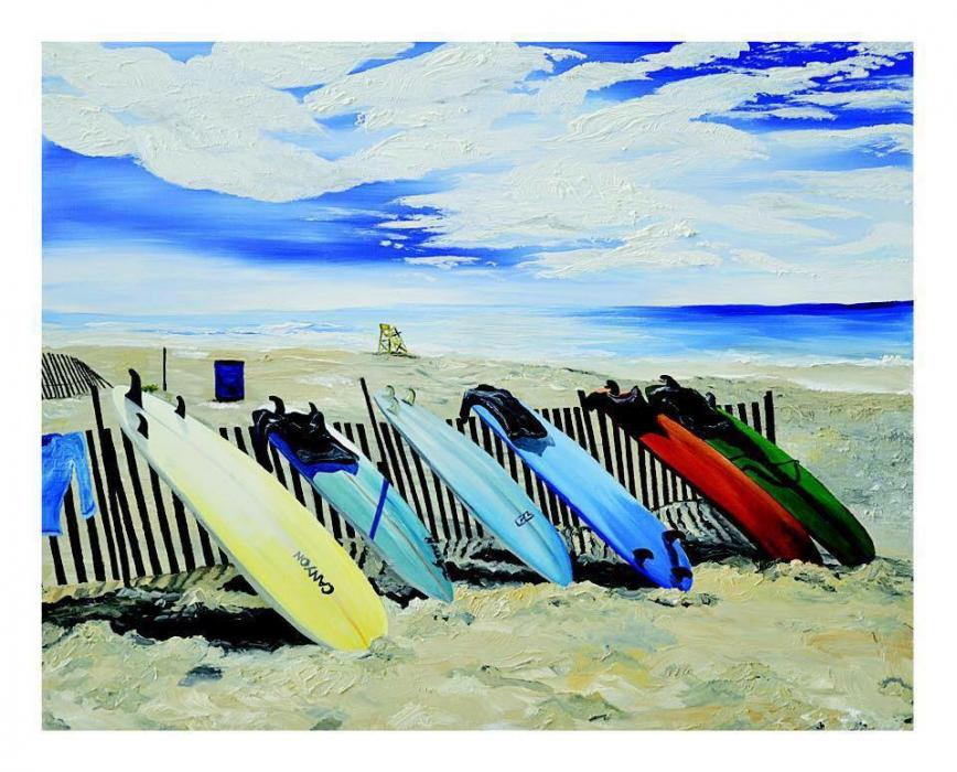 Lido Surf Boards - Original Paintings