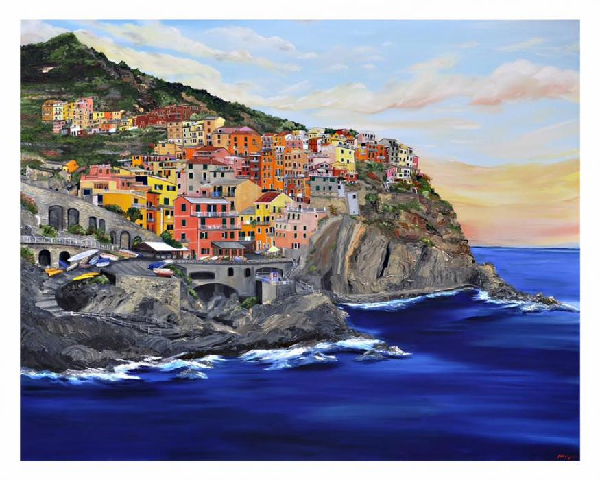Cinque Terra - Original Paintings