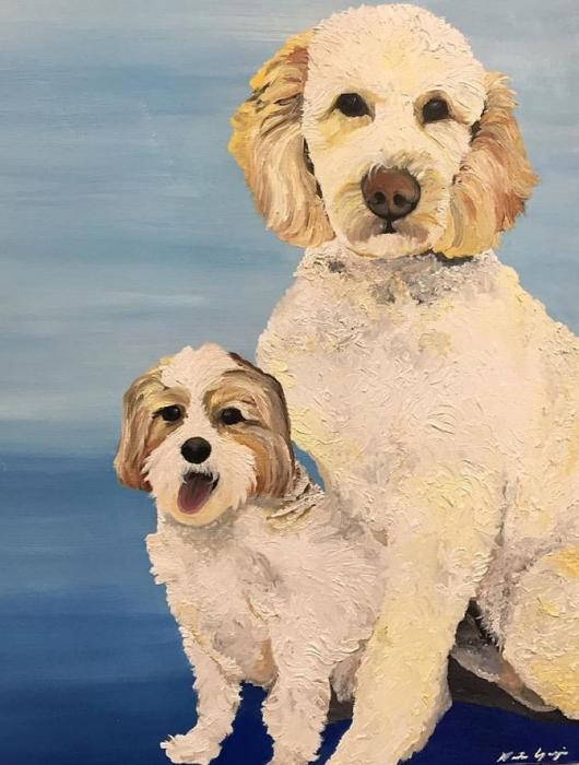 Puppy Love - Original Paintings
