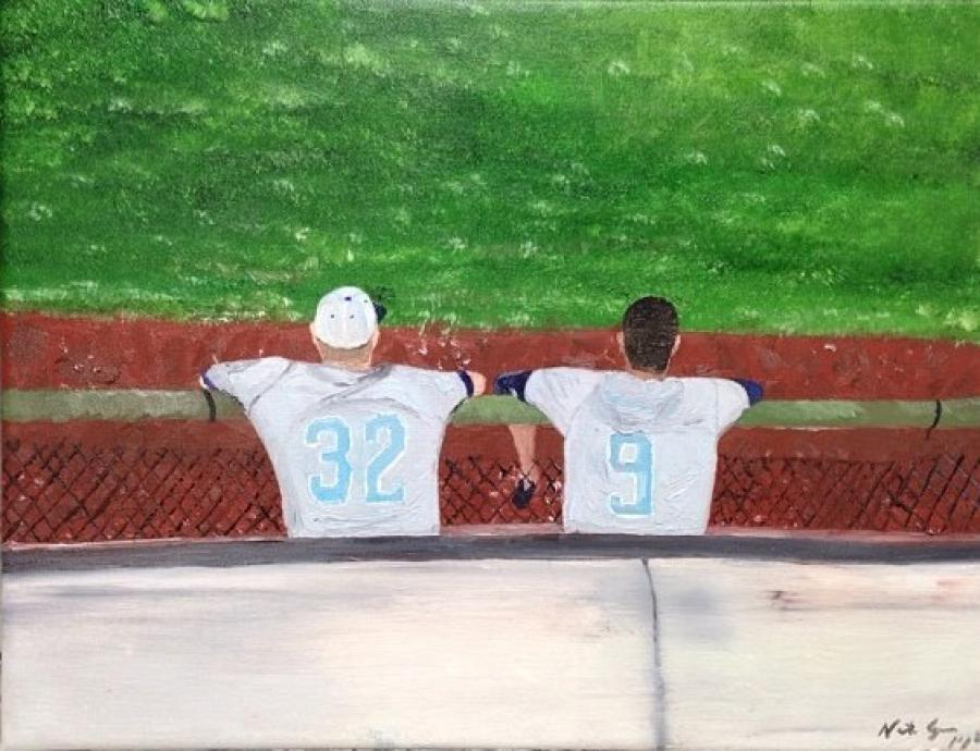 Dugout - Original Paintings