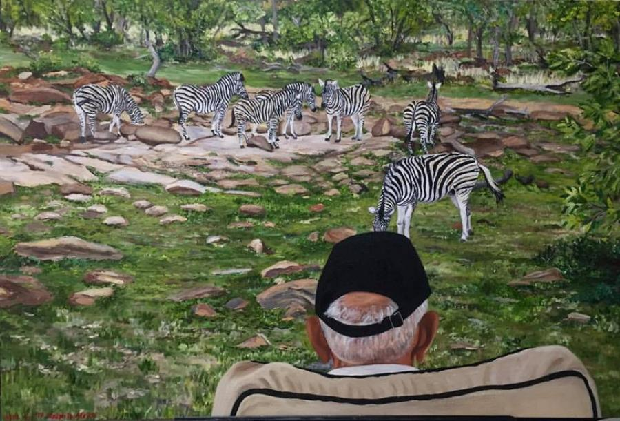 Ralph In Africa - Original Paintings