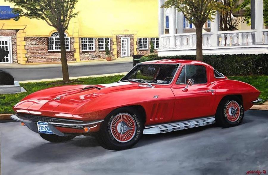 1966 Corvette - Original Paintings