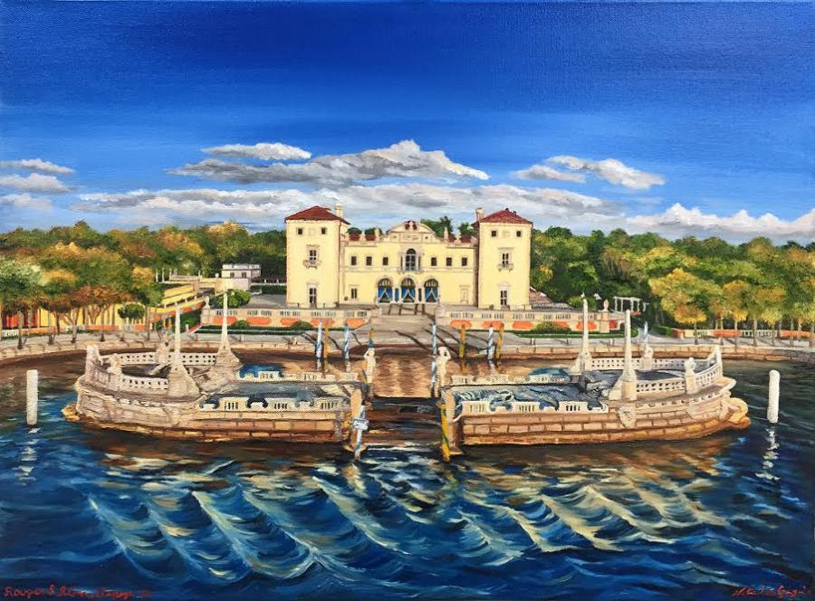 Vizcaya - Original Paintings