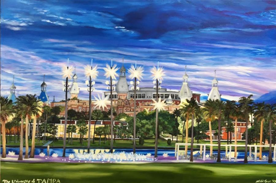 Tampa University - Original Paintings