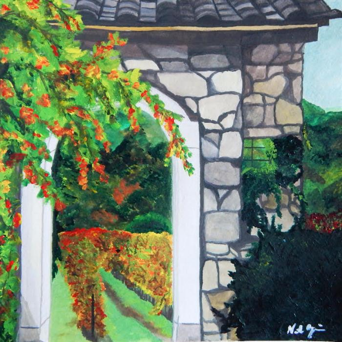 Vineyards - Original Paintings
