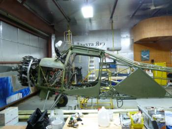Yak 12: strip, repair, Prime, paint