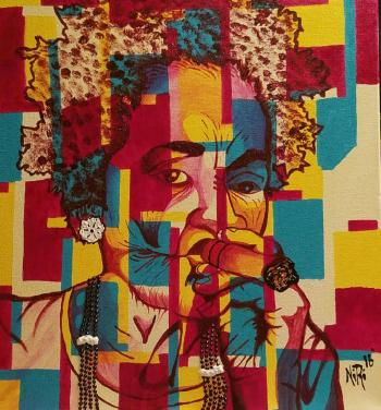 Abuela (SOLD-prints available) - Nichelle Rivers