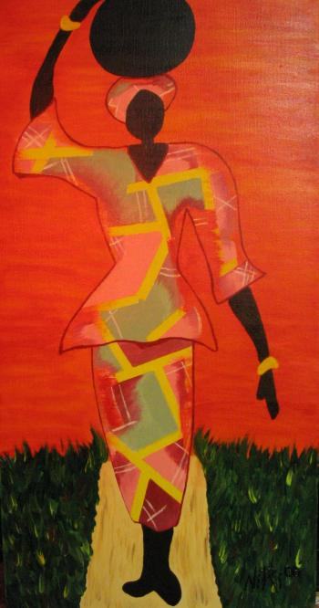 Going to Market (SOLD) - Nichelle Rivers