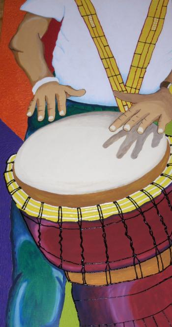 River Drumming - Nichelle Rivers