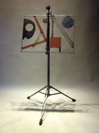 Kandinsky music stand Ii - John A Bell