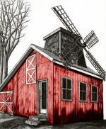 Windmill House - Barnyard Red