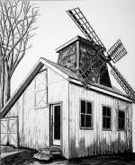 Baiting Hollow Windmill House