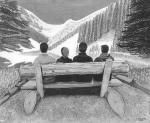 Lake Louise Banff Canada Trail Top