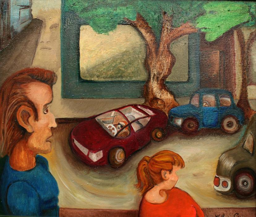 Parking Squeeze, 2013 - Katherine Criss's work