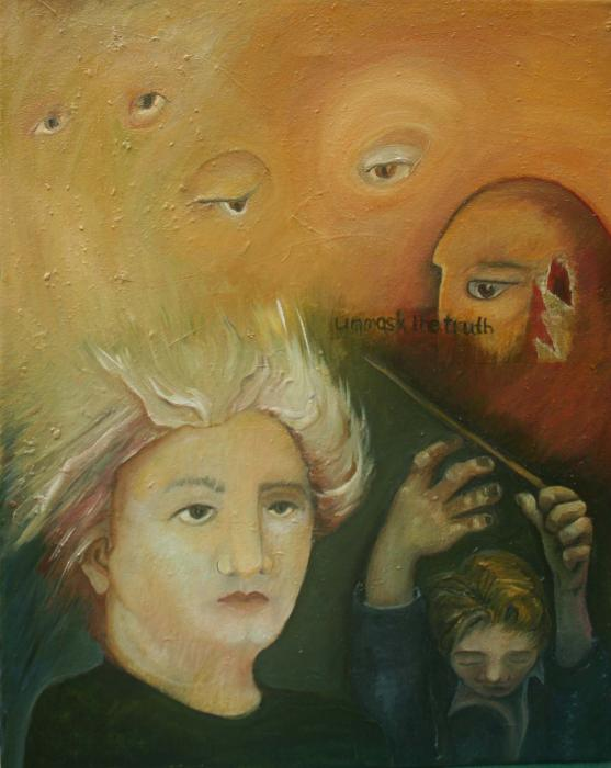 Unmask the Truth, 2011 - Katherine Criss's work