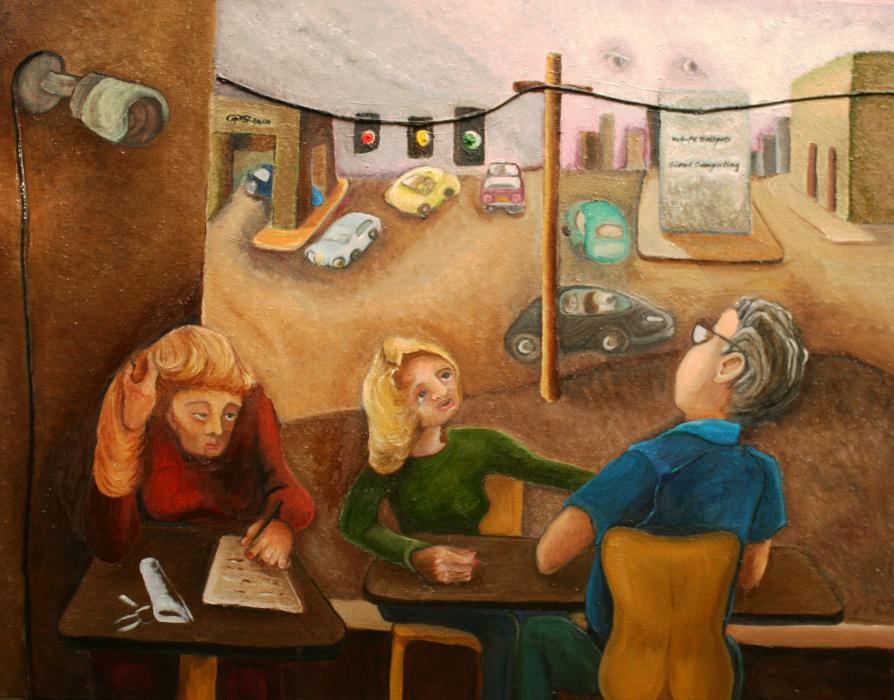 Surveillance, 2014 - Katherine Criss's work