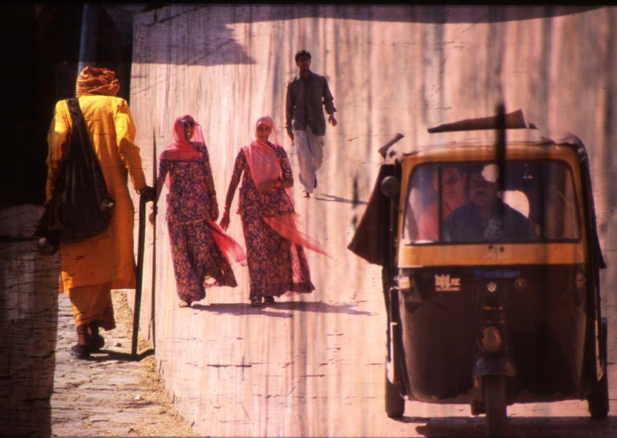 Afternoon Stroll, Surreal India, 2013 - Katherine Criss's work