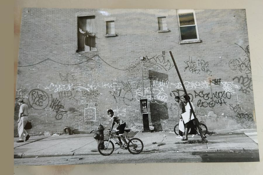K-criss-urban-street-4-painting - Katherine Criss's work