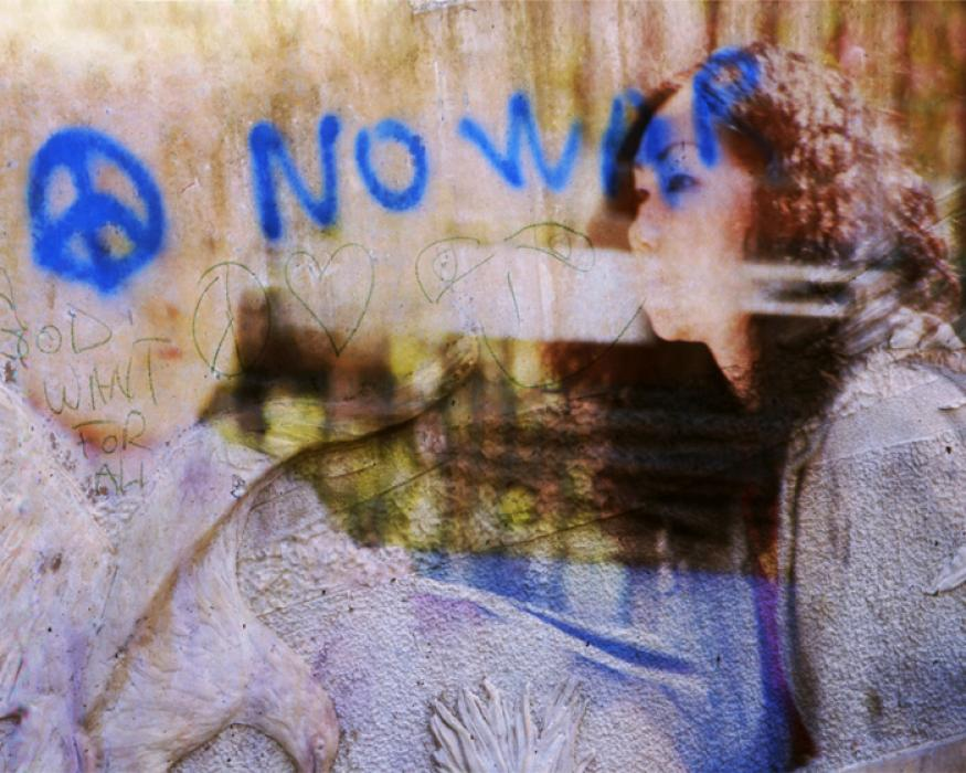 No War Graffiti, 2010 - Katherine Criss's work
