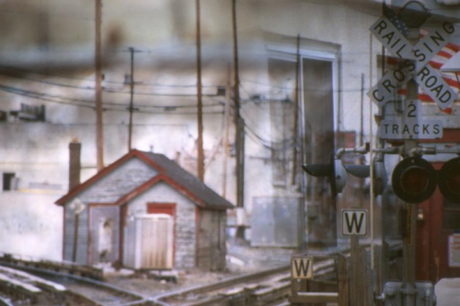 Railroad Crossings, 2003 - Katherine Criss's work