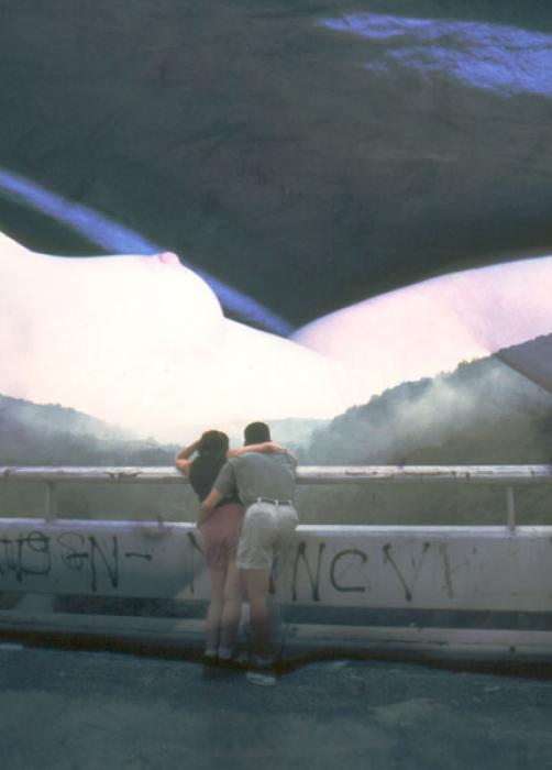 Romance at the Dam, 2000 - Katherine Criss's work