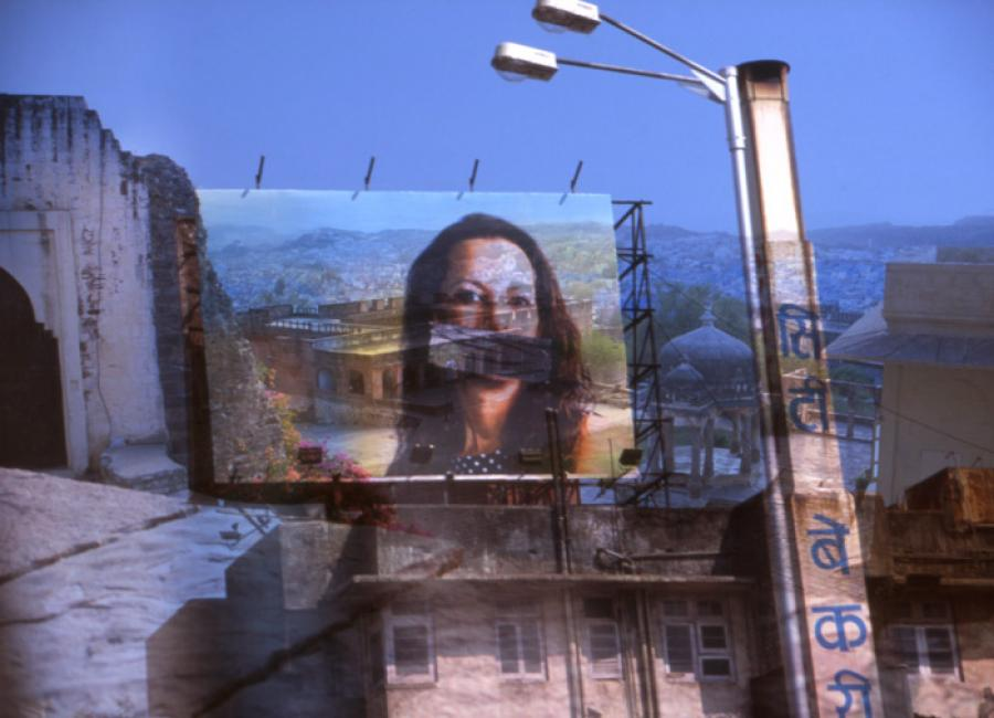 Surreal India - Silence, 2011 -#1 of a triptych - Katherine Criss's work