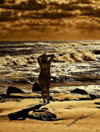 --- Seascape - H. Scott Cushing