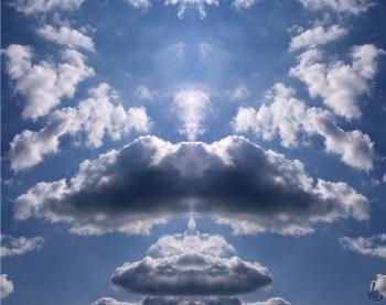 Amgel In The Sky 24x30 (1) - H. Scott Cushing