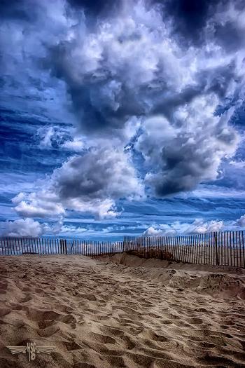 BeachSAND BLUE SKY - H. Scott Cushing