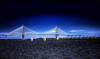 : Arthur Ravenel Jr Bridge, Charleston, SC - H. Scott Cushing