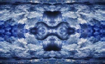 Blue skies darker - H. Scott Cushing