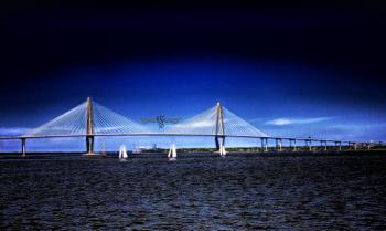 Ravenel Bridge Copyrighted - H. Scott Cushing