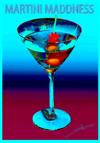 Three Olives Martini Copy - H. Scott Cushing