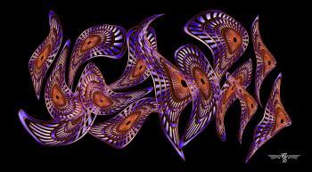 Ultimat Nebulous Horozontal 72x40 - H. Scott Cushing